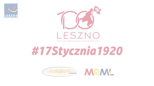 Wideo1: 100 lat polskiego Leszna - napis z autobusów