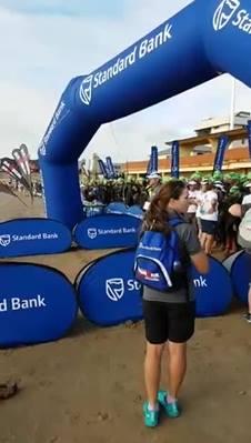 Wideo: Start do Ironman South Africa 2017 z udziałem Agnieszki Jerzyk