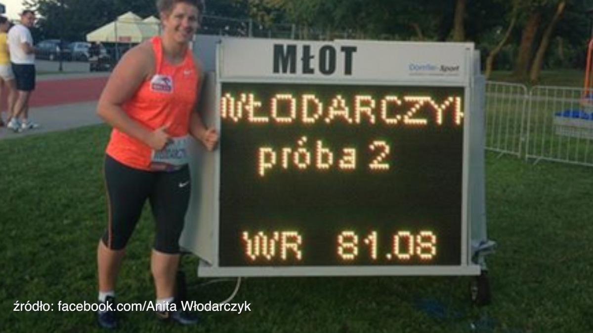 Wideo: Zobacz rekordowy rzut Anity Włodarczyk!
